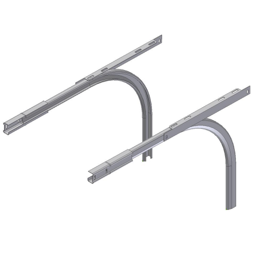 Crawford curve rail set, 2 inch